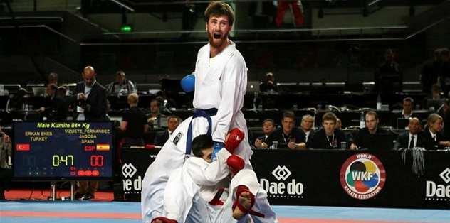 Paris'te Karatede ilk madalya geldi