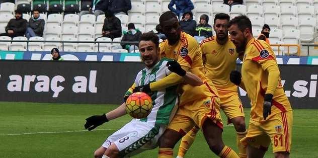 Konyaspor tek golle kazandı