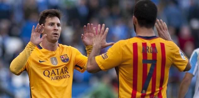 Barça deplasmanda kazandı