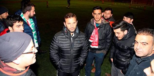 Sivas'ta 5 oyuncu sakat...