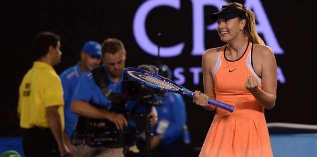 Williams'la Sharapova çeyrek finalde karşılaşacak
