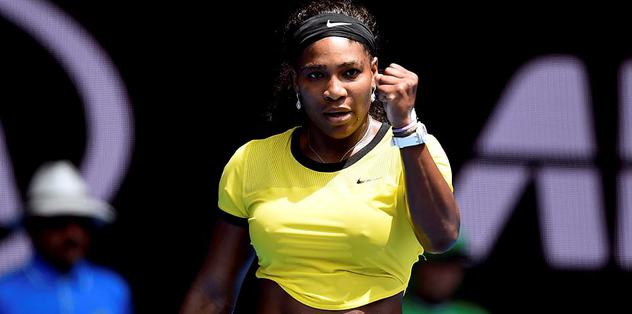 Erken finalin galibi Serena Williams