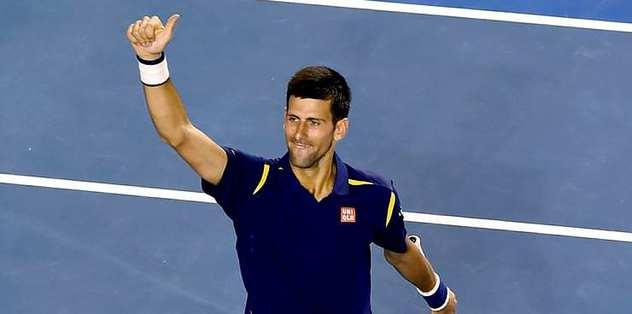 Djokovic Grand Slam'de yarı finalde
