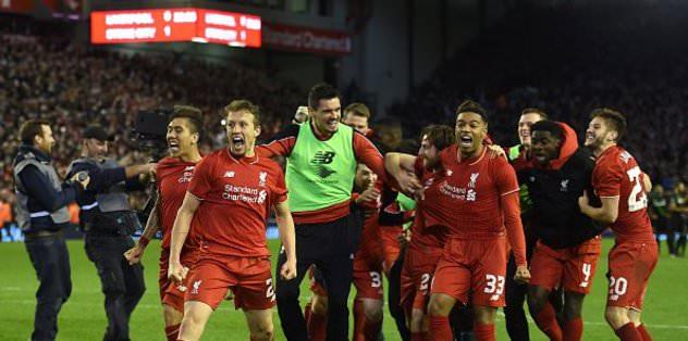 Liverpool finale yükseldi