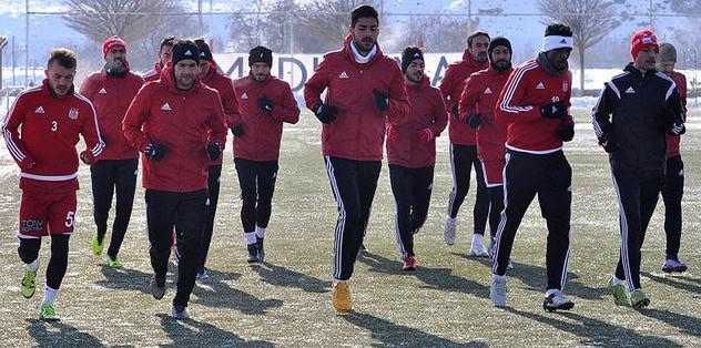 Sivasspor'da Osmanlıspor hazırlıkları sürdü