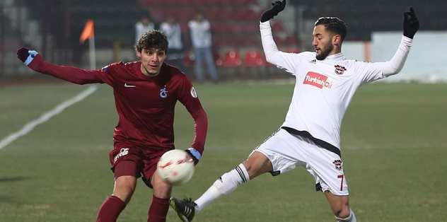 Trabzonspor maçında skandal