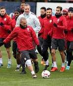 Gaziantepspor maçı hazırlıkları sürdü