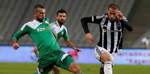 2 gol atan Cenk Tosun yetmedi