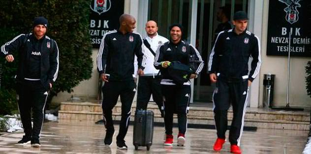 Trabzon maçına Rize'de kamp!