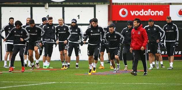 İşte Beşiktaş'ın 18 kişilik kadrosu
