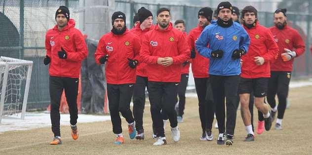 Eskişehirspor'da Kasımpaşa hazırlıkları