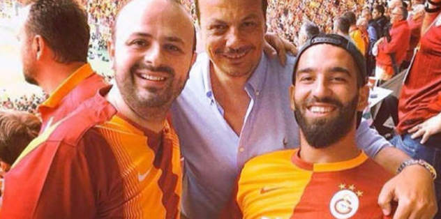 Galatasaray'a Arda'dan destek