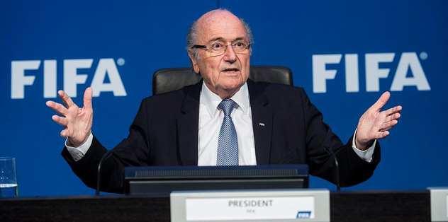 Blatter ifade verdi!