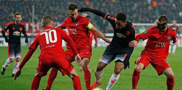 Avrupa Ligi'nde Manchester United'a şok