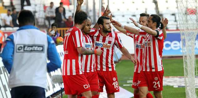Antalyaspor sonradan açıldı