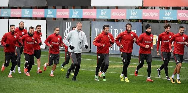 G.Saray'da Trabzon hazırlıkları tamamlandı