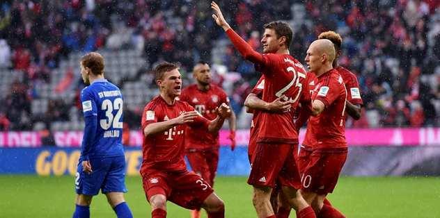 Bayern ikinci yarıda açıldı