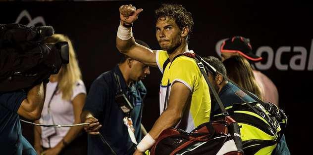 Nadal toprakta da kaybediyor