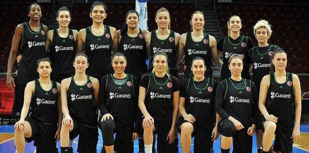 A Milli Kadın Basketbol Takımı, İsrail'e gitti