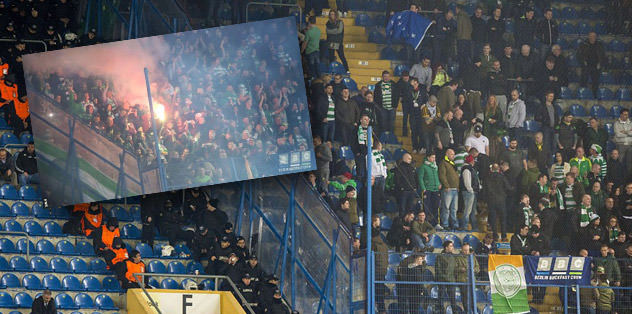 UEFA o maçla ilgili cezayı kesti