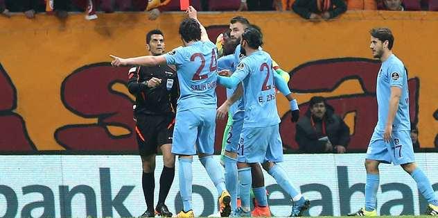 Trabzonspor'dan 8 isim PFDK'lık oldu