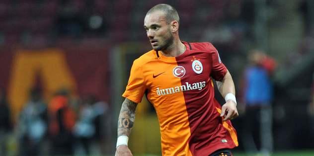 Sneijder'den İtalya'ya gönderme