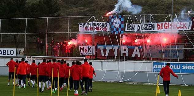 Trabzonspor'a taraftar morali