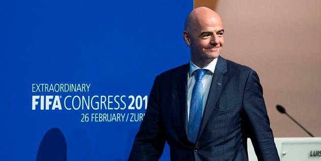 FIFA'nın patronu Infantino