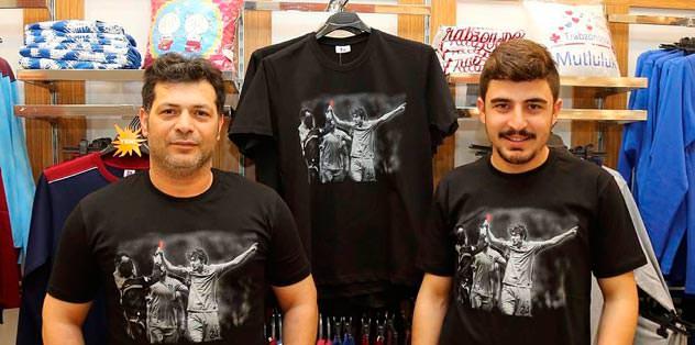 Tişörtler yok sattı