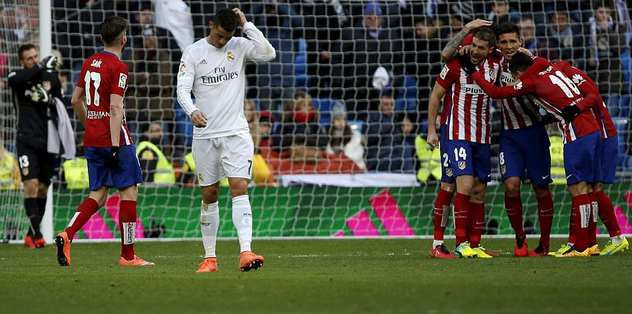 Madrid derbisi Atletico'nun