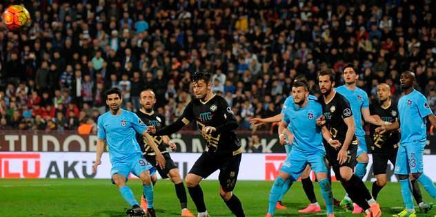 Trabzonspor'da 9 eksik