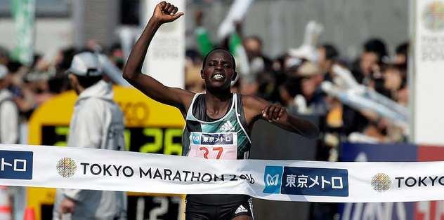 Tokyo Maratonu'nun birincileri Afrika'dan