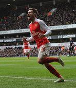Ramsey'in laneti sürüyor!