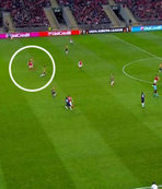 Braga'nın golünde net ofsayt