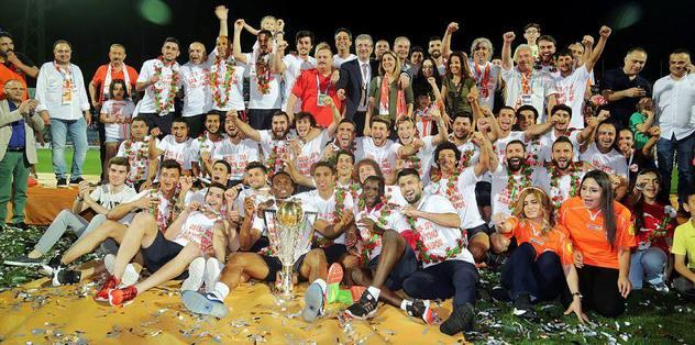 Adanaspor kupasına kavuştu