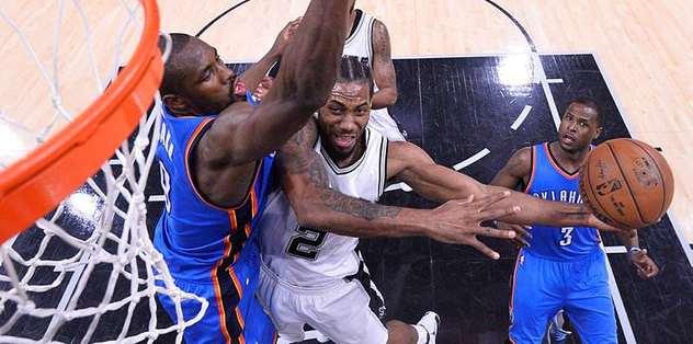 Thunder, Spurs deplasmanında galip