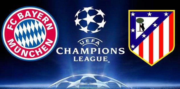 Bayern Münih - Atletico Madrid