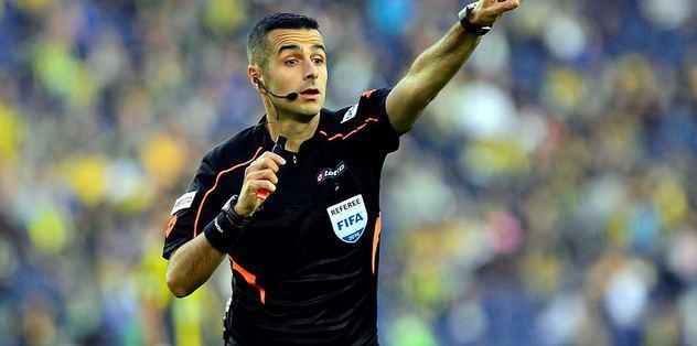 İşte G.Saray-Beşiktaş maçının hakemi