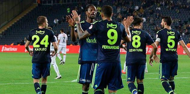 F.Bahçe son 5 resmi maçta 16 gol attı