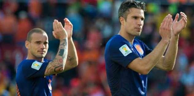 Sneijder ve Van Persi çağrıldı mı?