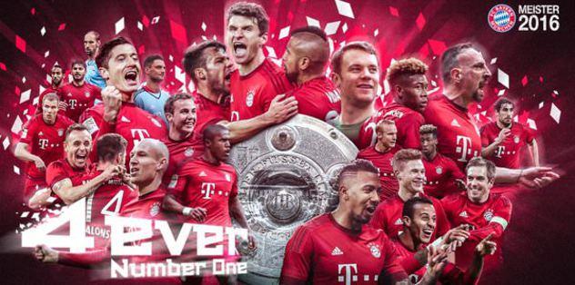 Ve Bayern Münih Şampiyon