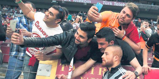 G.Saraylılar, Beşiktaş'ı centilmence ağırladı