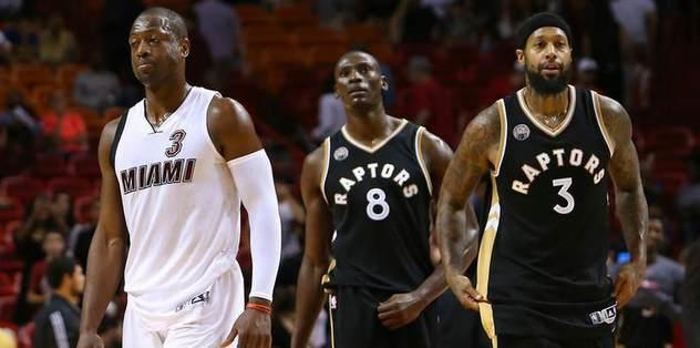 Heat hold off Raptors