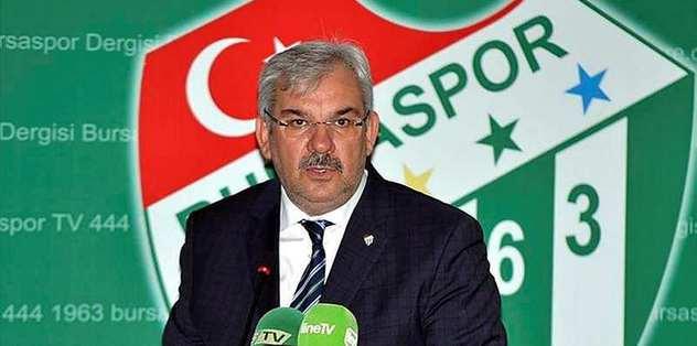 Bursaspor'da eski yönetime suç duyurusu