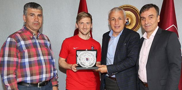 Trabzon'dan Marin'e veda