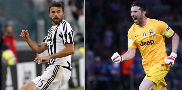 Buffon ve Barzagli nikah tazeledi