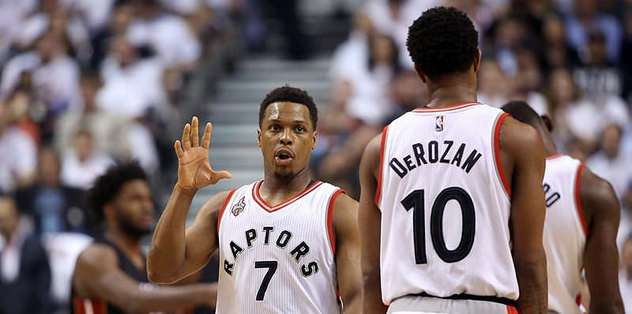 Backcourt guides Raptors to 3-2 series lead