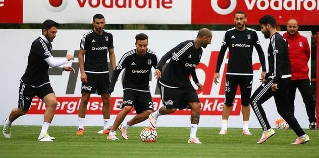 Beşiktaş'ta mesai sürdü