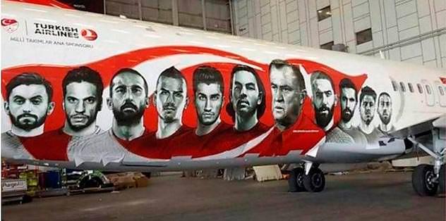 Millilere en özel uçak!