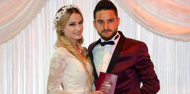 Şahiner evlendi